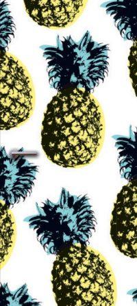 deursticker ananas2