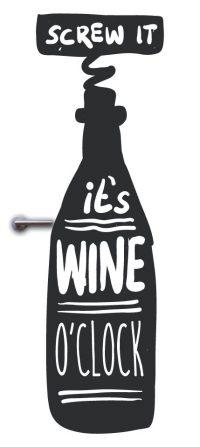 deursticker wijn