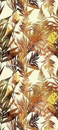 Deursticker bladmotieg Planty