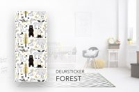 deursticker forest kinderkamer